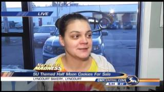 Lyncourt Bakery Is Making Orange & Blue Halfmoon Cookies In Honor Of Su