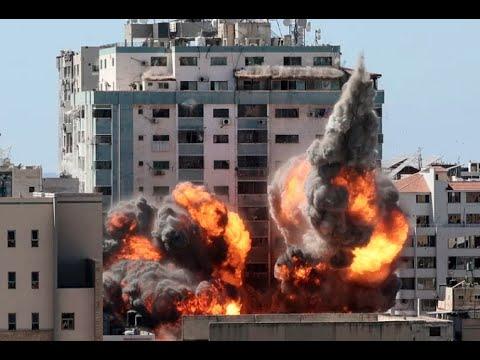 Israeli strikes on Gaza | May 15th - 18th 2021