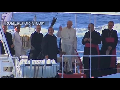 Remembering four years since Pope Francis' first symbolic trip
