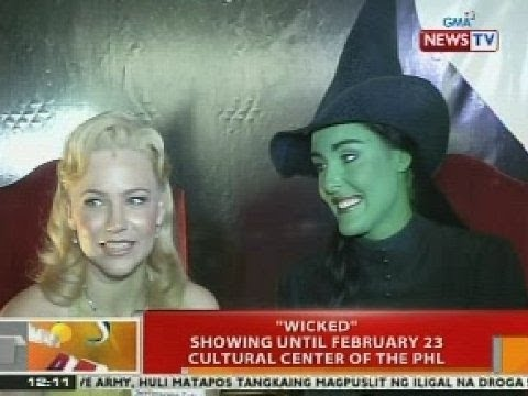 "BT: ""Wicked"", showing hanggang Feb. 23 sa Cultural Center of the Philippines"