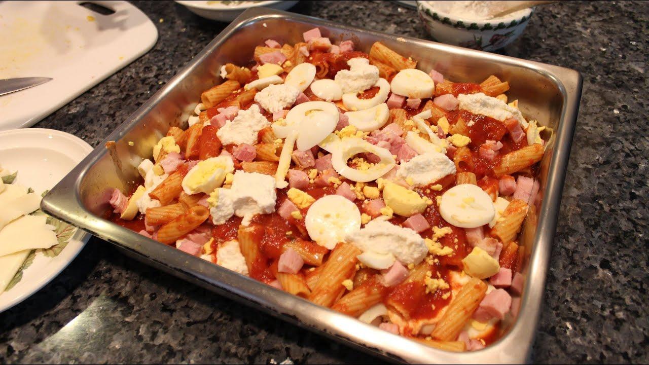 Baked Ziti Pasta Al Forno Doovi