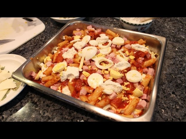 Baked Ziti (Pasta al Forno) Travel Video