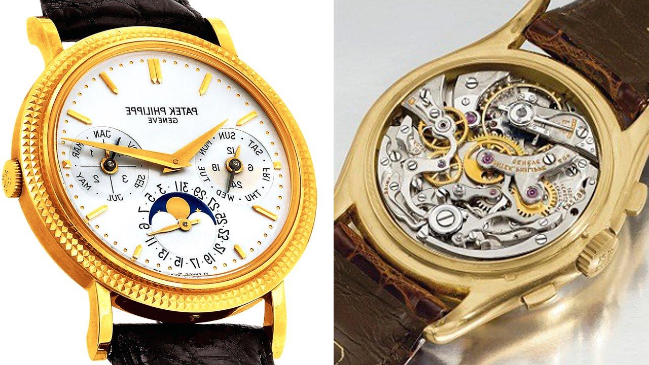 25 самых дорогих наручных часов в мире