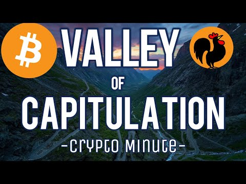 'Valley of Capitulation ' Bitcoin & Stock Crash, March 12th 2020, Daily Crypto News & Analysis