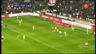 PSV - Feyenoord 10-0 24-10-10 (Lange Samenvatting)