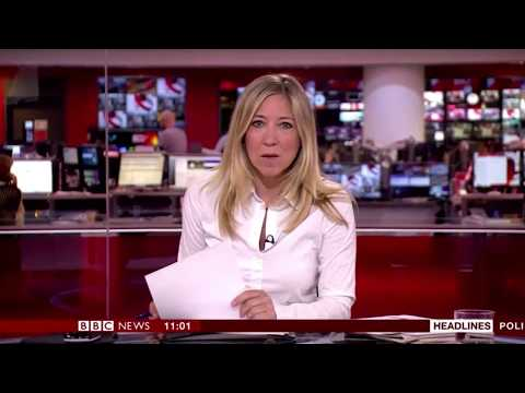 BBC News channel - Newsroom Live opening - 080717