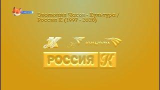 Смотреть видео Эволюция Часов - Культура / Россия К (1997 - 2020) онлайн