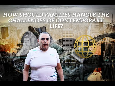 Vic's World - How should families handle the challenges of contemporary life?