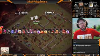 CCL GOM vs OHG & KJ vs SL NO DIP!!! Live Stream 2/17/19| Clash of Clans