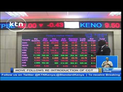 Traders suspend trading at Nairobi Securities Exchange  for one month
