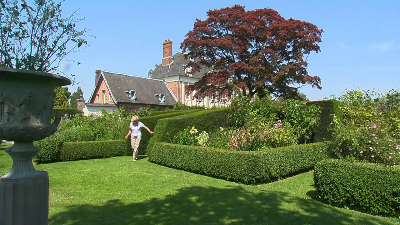 Jardin de normandie les jardins d 39 ang lique youtube for D jardin