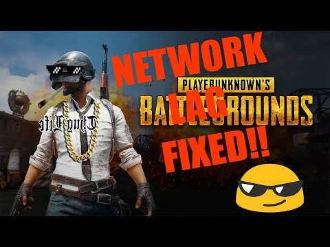 Network lag in player unknown battlegrounds