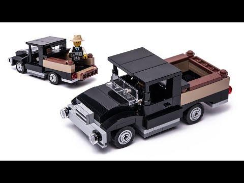 Free LEGO 10232 car alternative build instructions - YouTube
