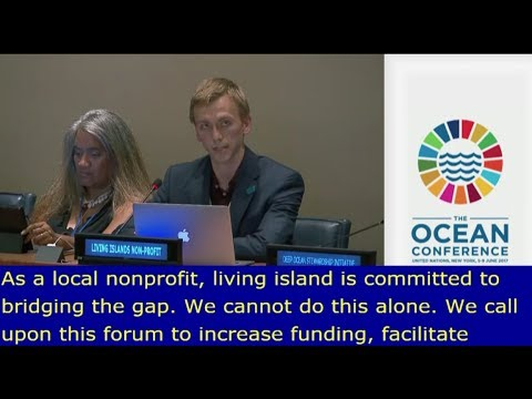 Living Islands at the UN Oceans Conference