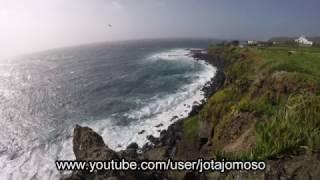 Prenuncio da tempestade Doris nos Açores de 01-02-2017