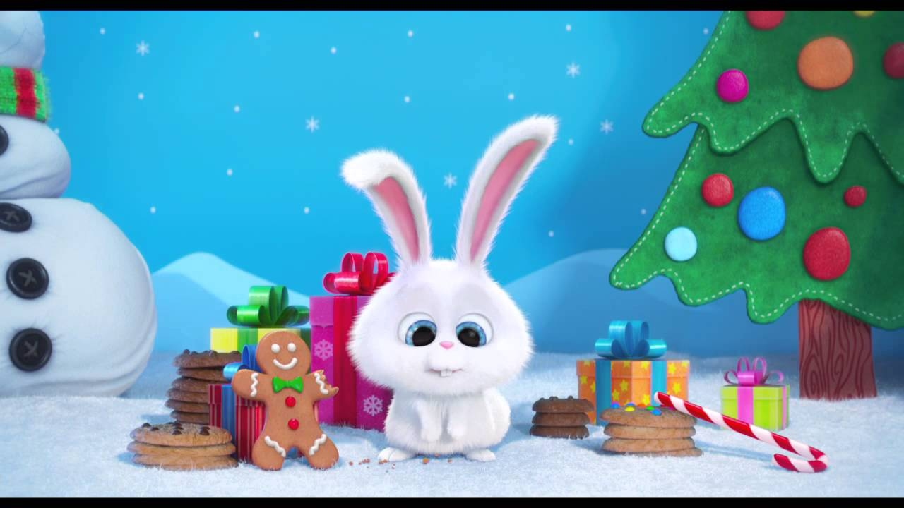 the secret life of pets happy holidays greeting   youtube