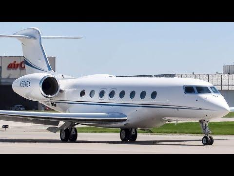 Private Gulfstream G650 (GLF6) departing Montreal (YUL/CYUL)