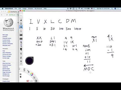 LeetCode Tutorial 13. Roman to Integer