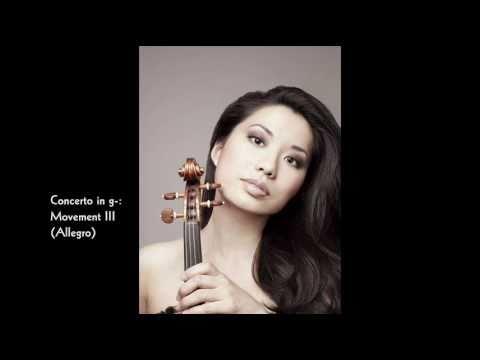 Sarah Chang: Violin Concerto in g-, RV.317 (Antonio Vivaldi)
