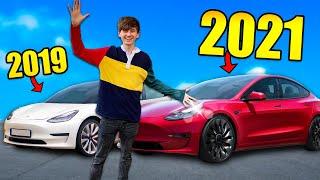 EVERY Change in the NEW 2021 Tesla Model 3 Vs 2019 Tesla Model 3