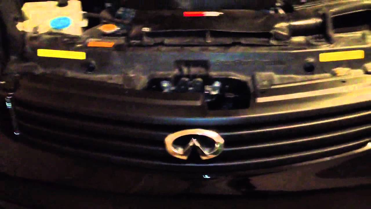 Blacked Out Grill On Sedan Part Youtube