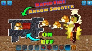 How To Make Rapid Fire Arrow Shooter | Itz RT