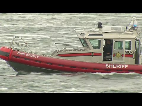 Police resume search and rescue efforts in Niagara River, looking for missing BPD officer