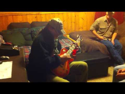 Ted Nugent playing Stranglehold for us