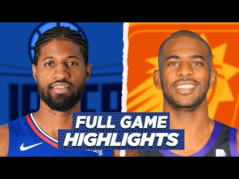 CLIPPERS at SUNS FULL GAME HIGHLIGHTS | 2021 NBA SEASON