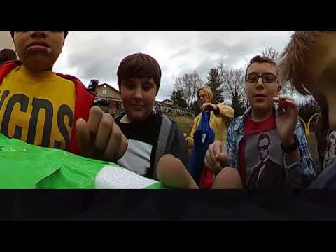 5th Grade Science at Wheeling Country Day School JoJoIII Weather Balloon 360 VR Camera - Launch