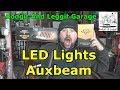 Auxbeam led Lights Bodgit And Leggit Garage