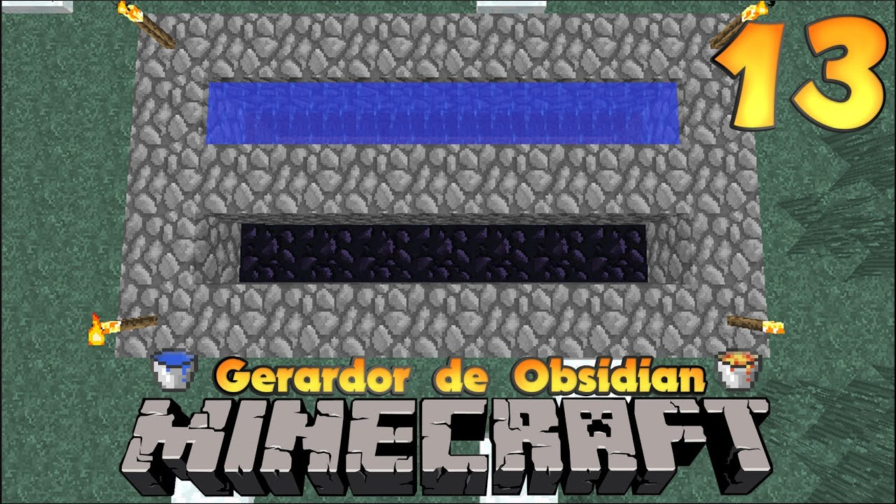 how to make obsidian in minecraft survival