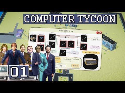 Computer Tycoon | Steve Jobs Apple Aufbau Simulator? 💻 #01 Computer Vertrieb Simulator deutsch