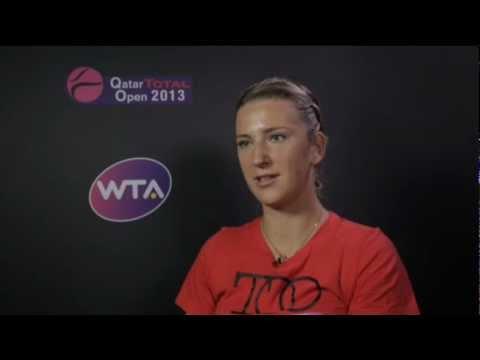 Victoria Azarenka On Winning 2013 Qatar Total Open
