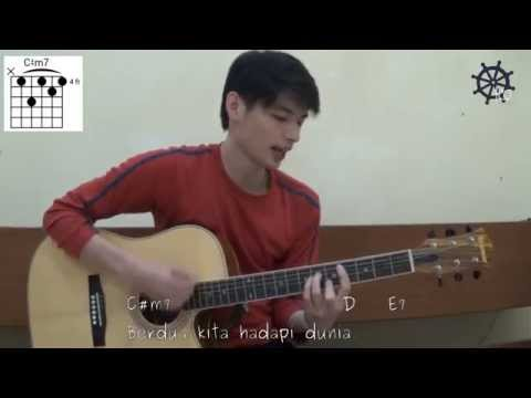 Akustik Gitar - Belajar Lagu (Teman Hidup - Tulus)