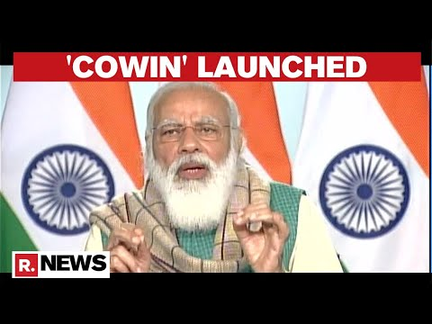 PM Modi Announces Launch Of 'CoWIN' App Ahead Of COVID Vaccine Rollout On Jan 16