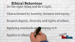 Ethical behaviour and business practice