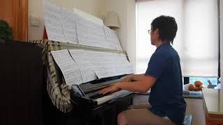 Franck: Violin Sonata - 2nd Movement - Piano Part [Fast Tempo]