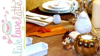 Repeat youtube video TJ Maxx Tablescape Clearance Challenge {collab}