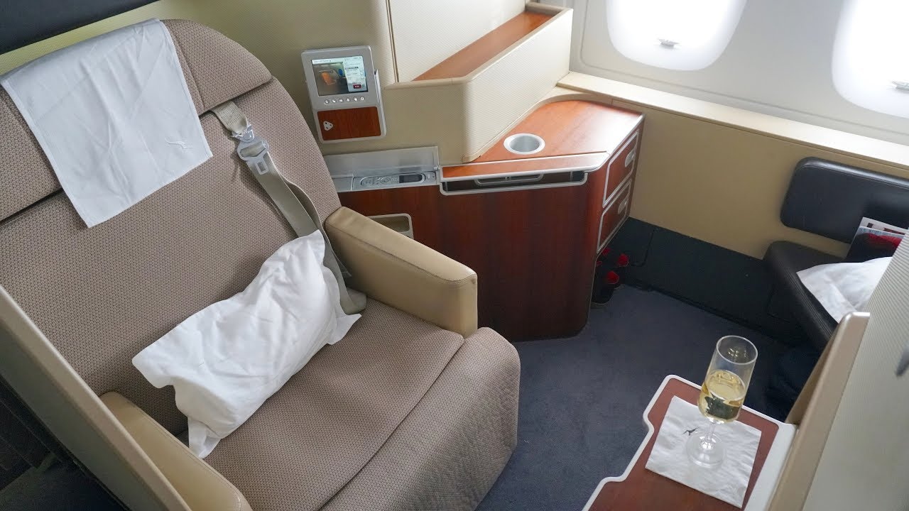 Qantas First Class Review Airbus A380 Qf1 Sydney To London