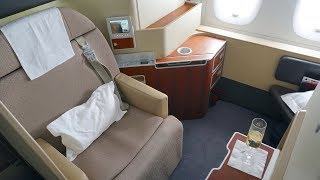 Qantas First Class Trip Report - Airbus A380 - Sydney to London. We...