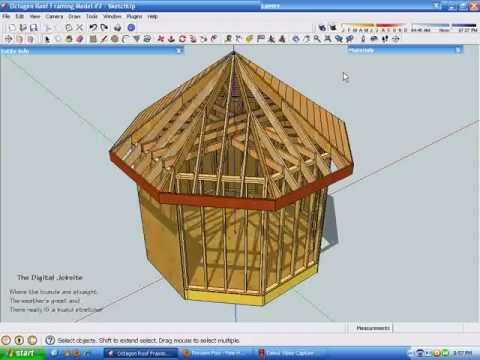 Exploring Octagonal Roof Framing Part Two