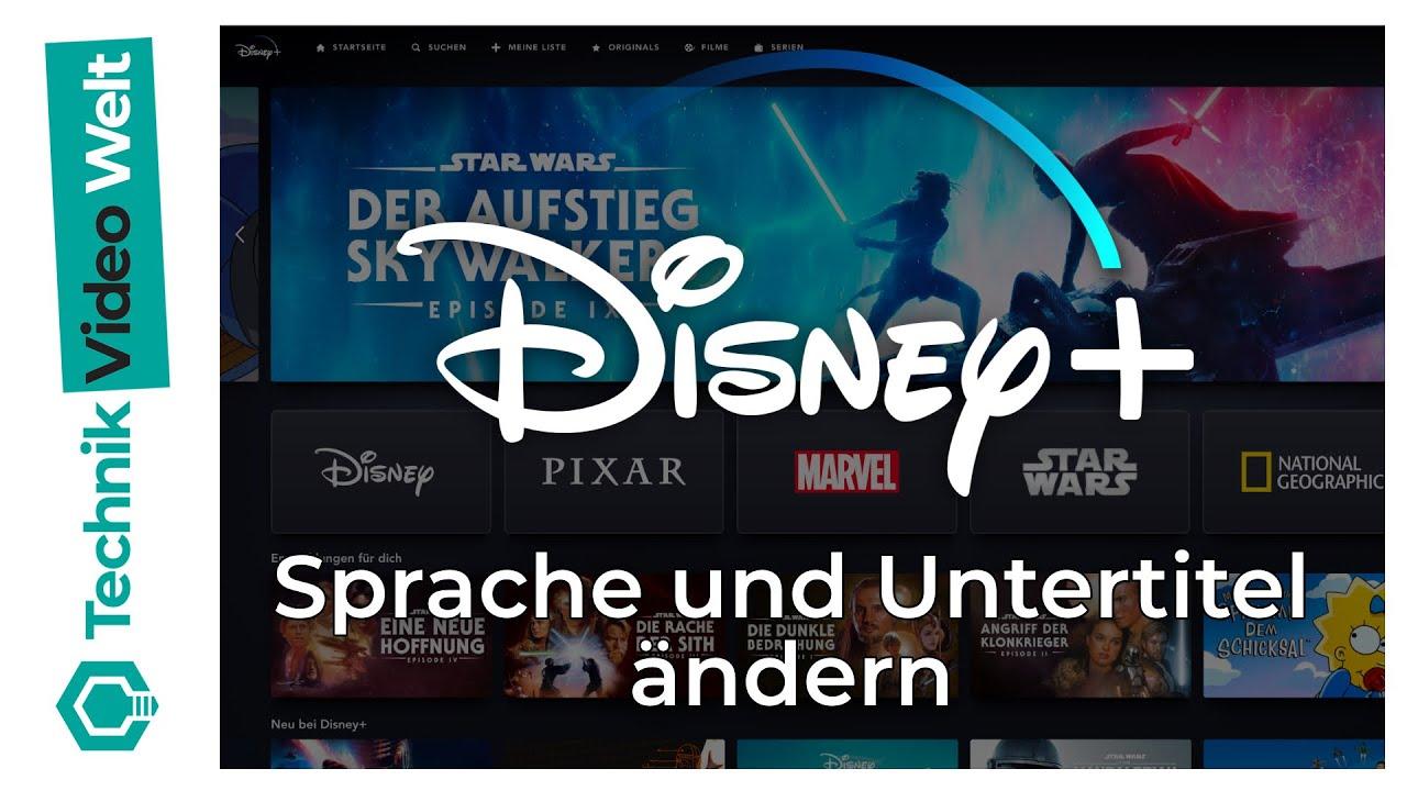 Disney Plus Sprache ändern
