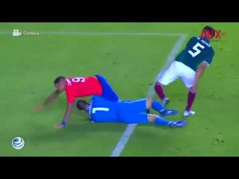 Selección Mexicana volvió caer ante Chile con gol de Nico Castillo