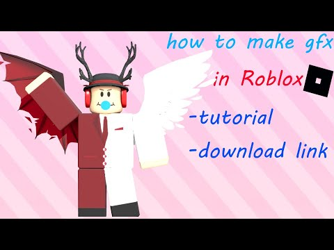 How To Make Gfx On Roblox For Beginner 2020 Window 10 Youtube