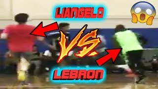 LiAngelo Ball's team DEFEATS LeBron James in pickup game