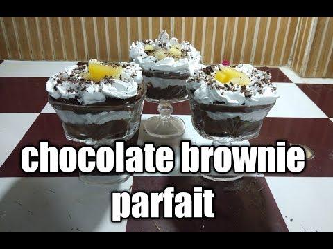CHOCOLATE BROWNIE PARFAIT RECIPE