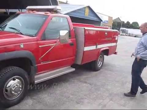 stahl grand challenger dually chassis utility truck bed service
