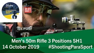 R7 Men's 50m Rifle 3 Positions SH1 | 2019 World Shooting Para Sport Championships