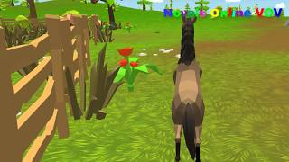 Fun Kids Care Games   The Farmer In The Dell Song   Nursery Rhymes & Kids Songs For Babies